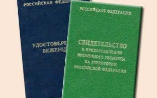 Временное убежище в россии в 2020 году: разрешение на получение статуса беженца