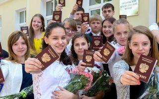 Документы для получения паспорта в 14 лет в 2020 году: порядок и сроки получения