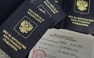 Как получить вид на жительство в россии в 2020 году: порядок оформления документов