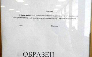 Как гражданину молдовы получить российское гражданство в 2020 году: условия и основания