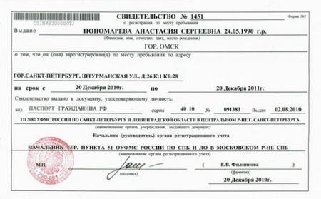 Как сделать временную регистрацию: по месту пребывания: документы, сроки