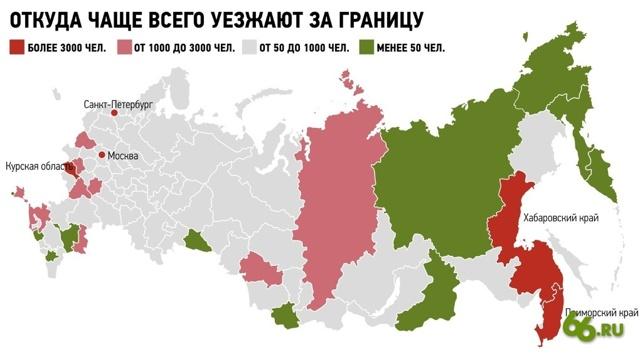 Почему россияне хотят уехать из страны (3 причины)