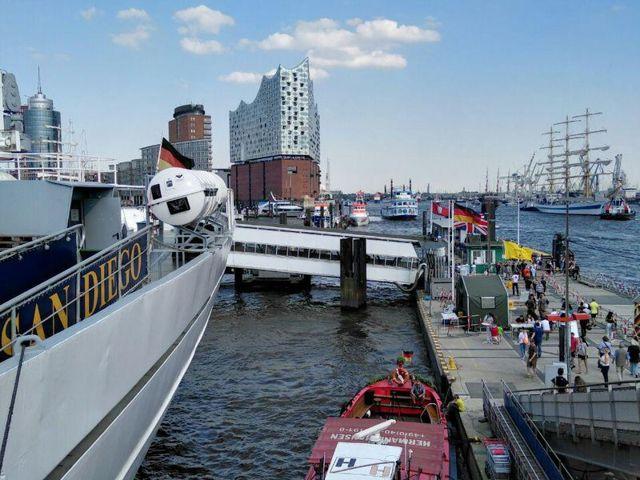 3 визитные карточки Гамбурга