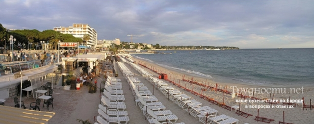 Отдых на французском курорте Жуан-ле-Пен