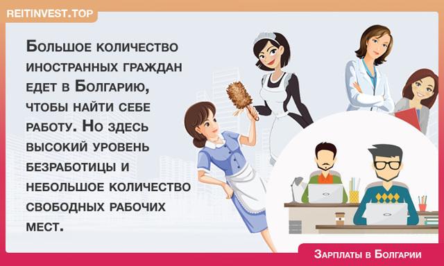 Средняя зарплата в Болгарии по профессиям в 2020 году