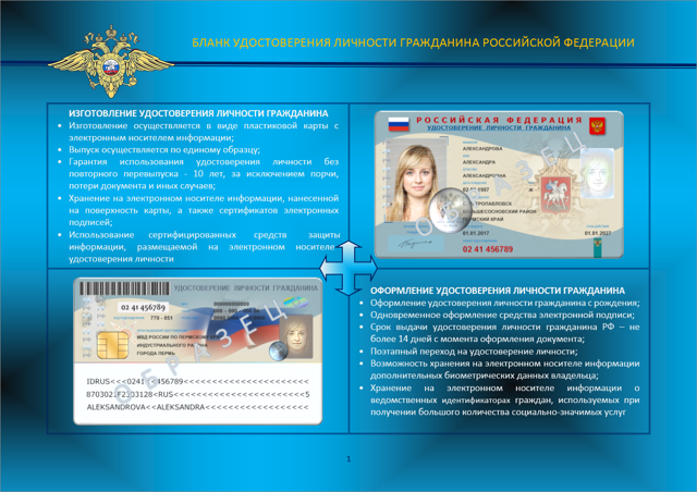 Биометрический паспорт РФ в 2020 году: как выглядит