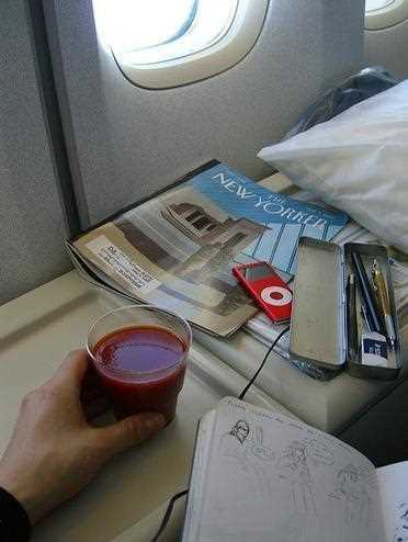 3 причины популярности томатного сока в самолете