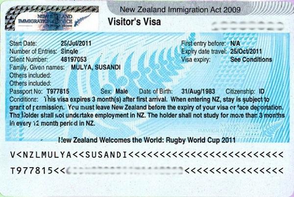 Виза в Новую Зеландию: нужна ли для россиян, белорусов и как её получить в 2020