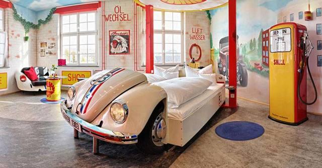 5 самых необычных гостиниц в Германии