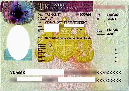 Документы на визу в Великобританию (Англию) в 2020 году: список, образец заполнения анкеты