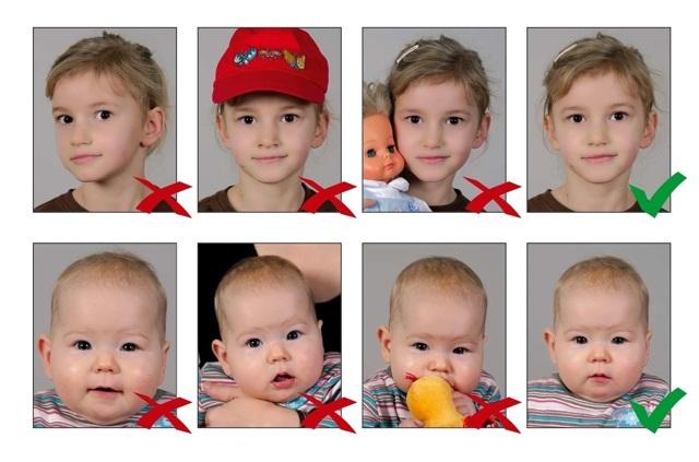 Фото ребенка на загранпаспорт в 2020 году: общие требования
